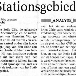 Stationsgebied, de musical