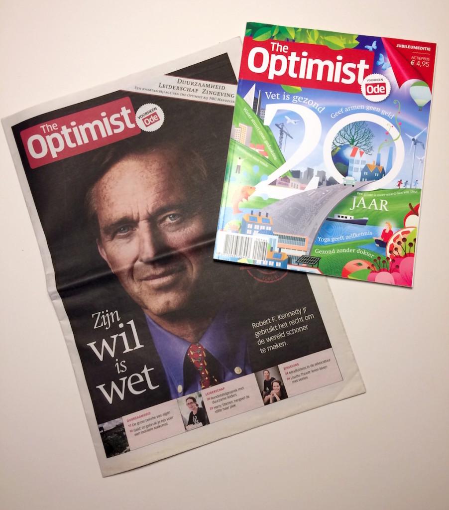 NRC Handelsblad en The Optimist werkten jarenlang samen.