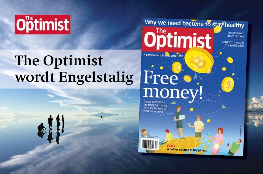 Optimist wordt Engelstalig